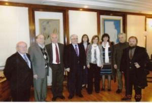 Συνάντηση με τον Αναπληρωτή Υπουργό Πολιτισμού κ. Κώστα Τζαβάρα (26-2-2013)